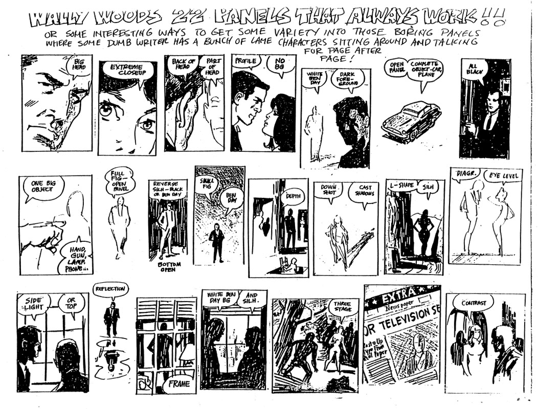 Wally Wood 22 Panels